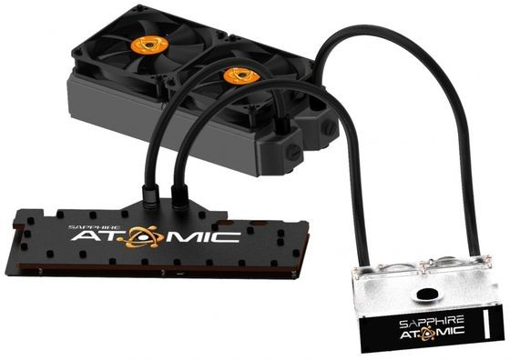 Sapphire HD 7990 Atomic Cooling