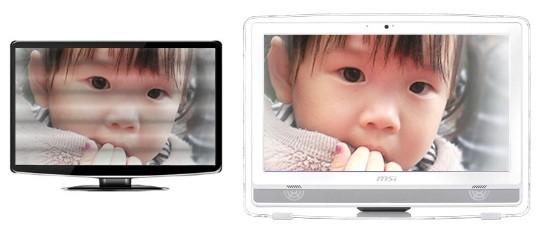 MSI AE220 screen