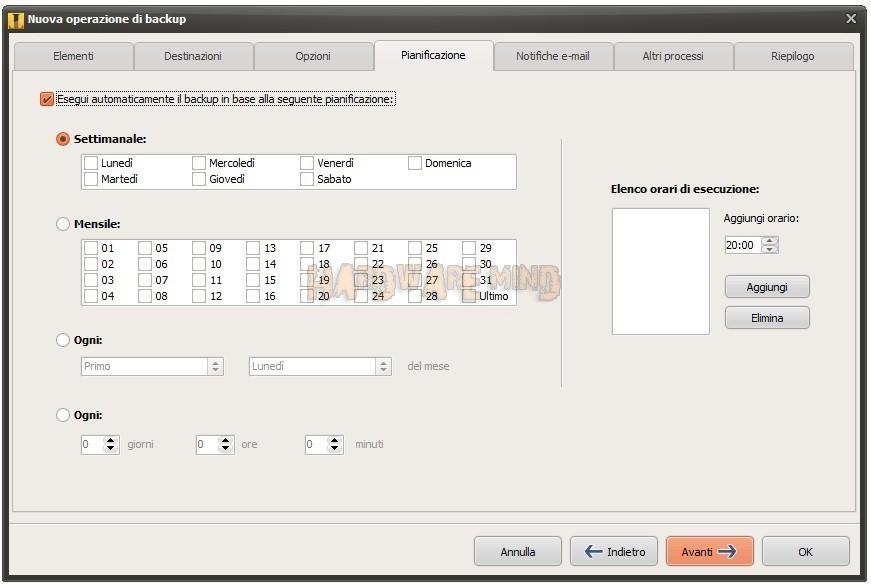Iperius backup software made in italy per mettere al for Software di pianificazione del garage