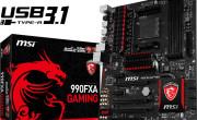 MSI svela la 990FXA GAMING, con porte USB 3.1