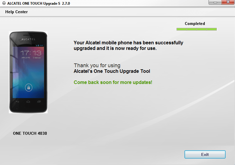 Alcatel speed Touch Firmware upgrade