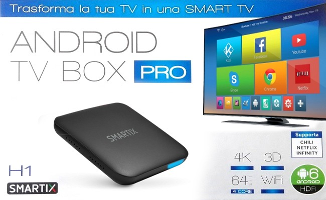 Recensione: Atlantis Android TV BOX PRO Smartix H1
