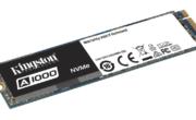 Kingston presenta il drive a stato solido PCIe NVMe A1000 entry-level